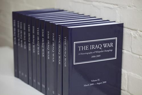The Iraq War: Wikipedia Historiography