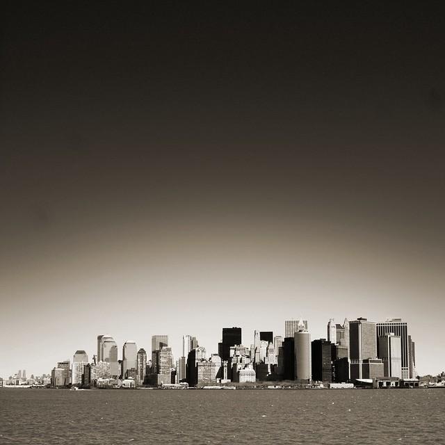 New York Black & White from Flickr via Wylio