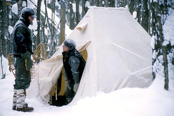 by Snowtrekker Tents & SnowTrekkerTents.com - Photos of Snowtrekker Tents in Action