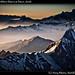 Northern Cordillera Blanca at Dawn, detail