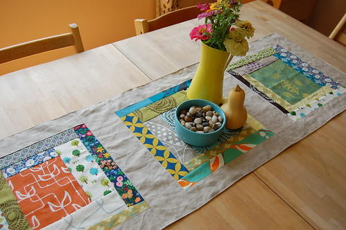 soulemama inspired table runner