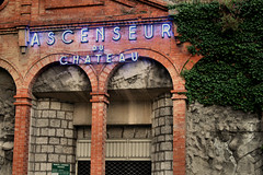 Ascenseur du Château