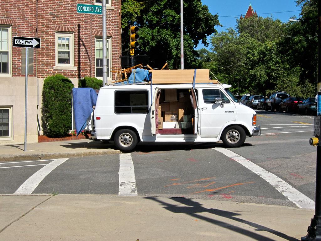... Dodge Ram Van with furniture f6ad1b261de