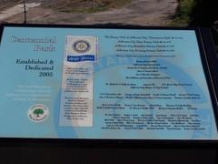 Centennial Park Interpretive Sign
