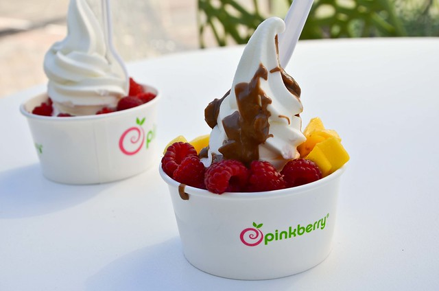 My first pinkberry