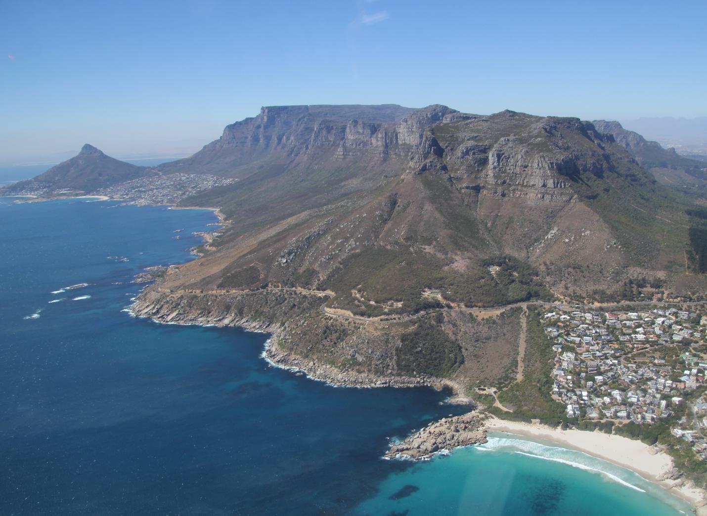 Kapstadt-Luftaufnahme