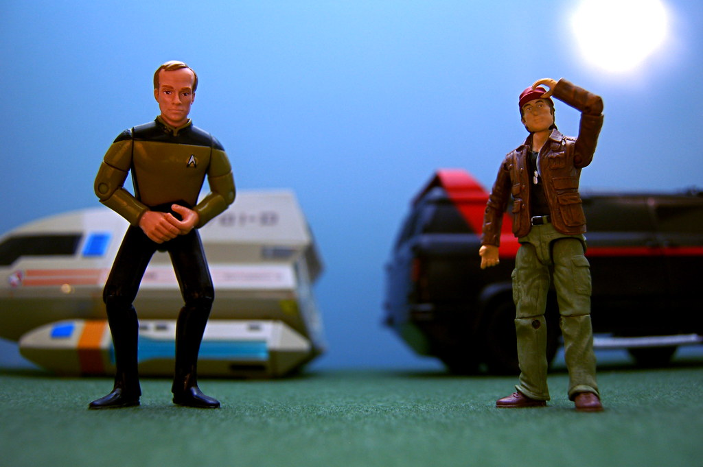 "Lieutenant Reginald Barclay vs. Captain H.M. ""Howling Mad"" Murdock (177/365)"