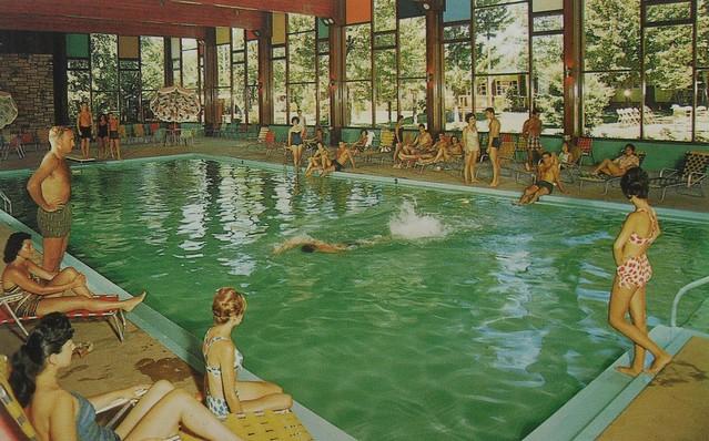 1950s Hotel Brickman Fallsburg New York Resort Swimming Po Flickr Photo Sharing