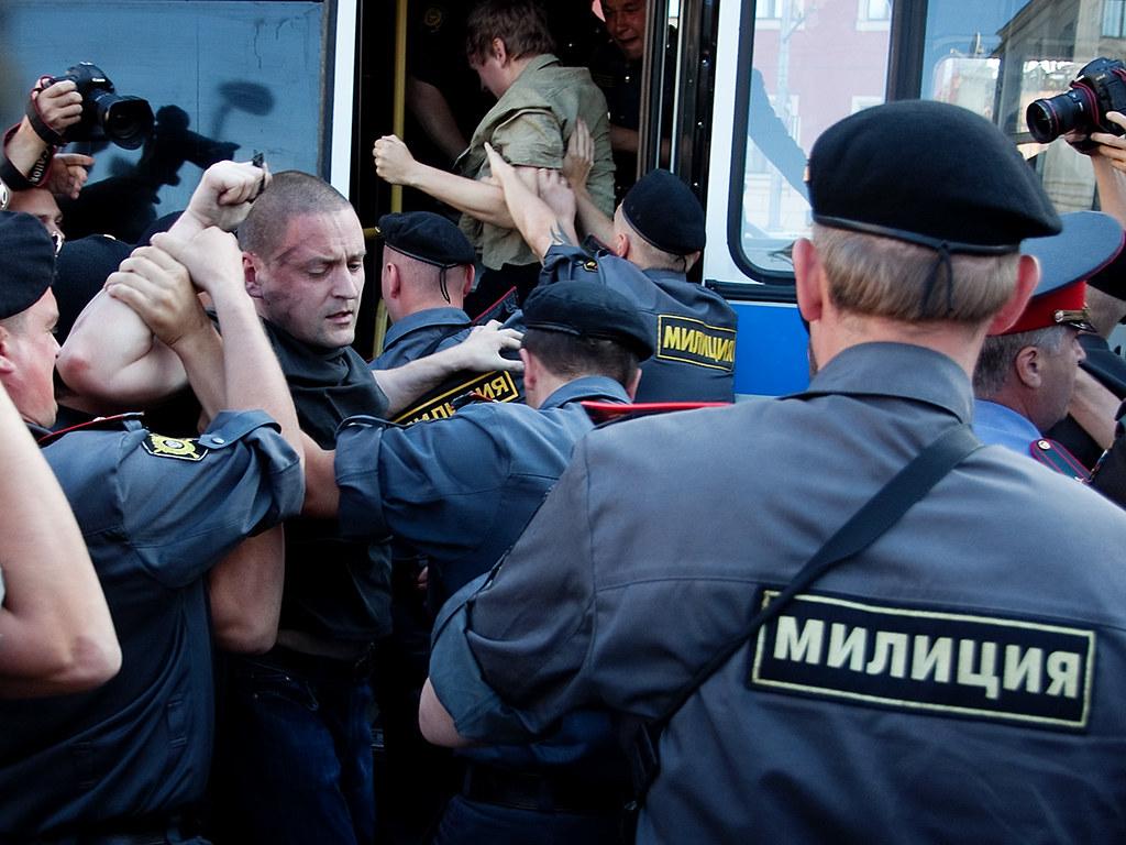 """""""День гнева"""" в Москве"""