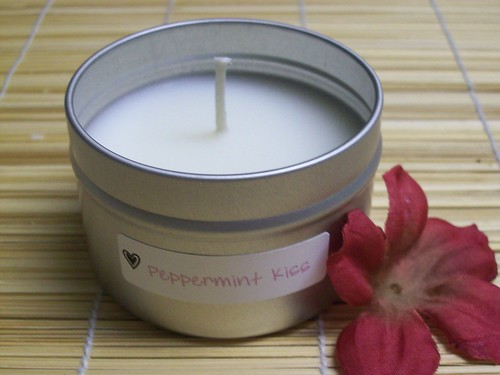 Peppermint Kiss Lotion Candle