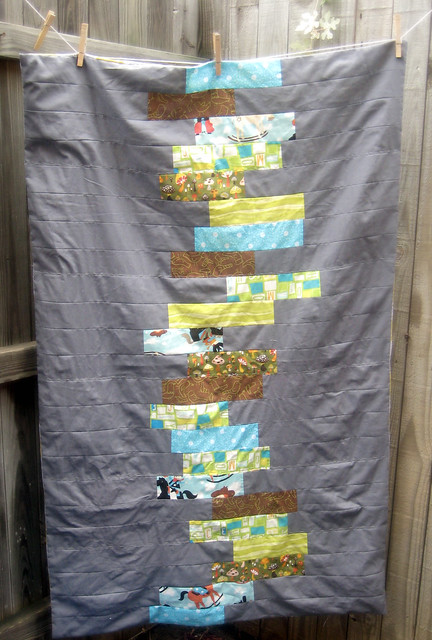 G's Block Stack Summer Time Quilt