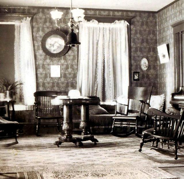 Parlor interior 1900's | Flickr - Photo Sharing!