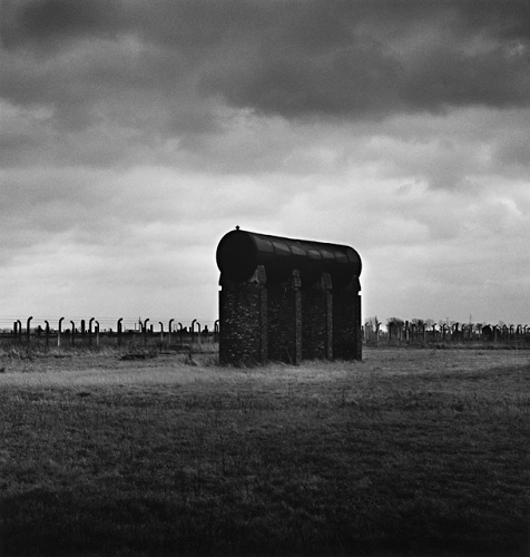Fuel Container, Birkenau, by Michael Kenna 1992