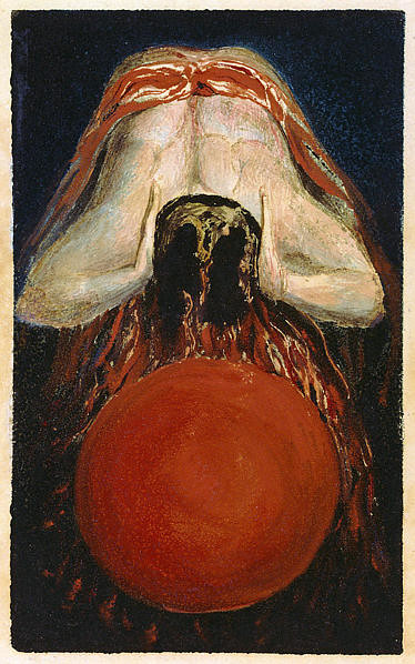 The First Book of Urizen, copy F, by William Blake 1794