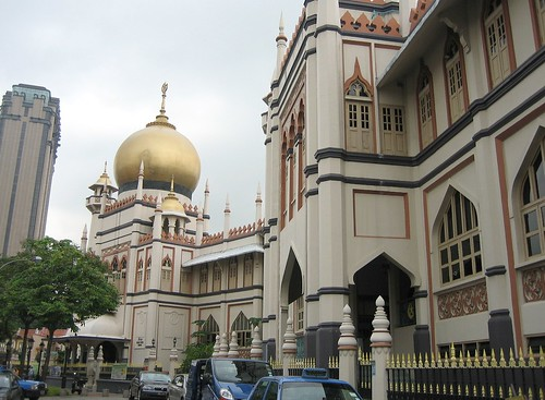 Sultan Mosque at Arab Street, Singapore