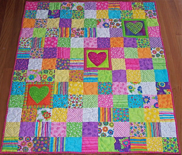 another charm pack quilt i made this quilt with the