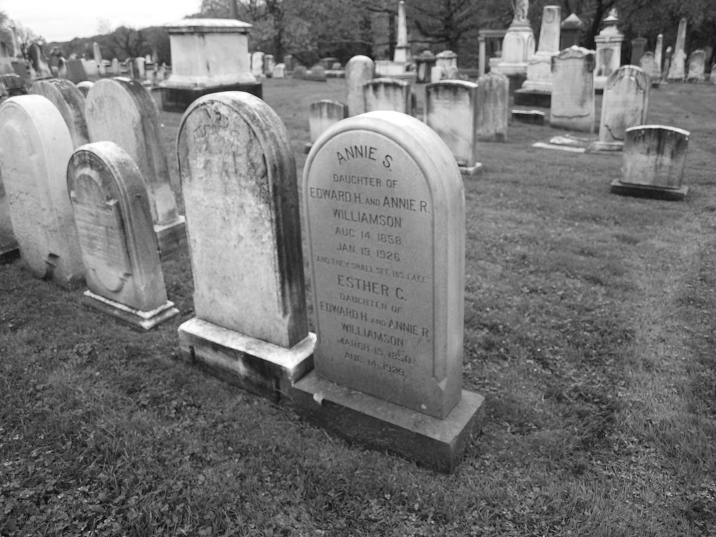 various cemeteries