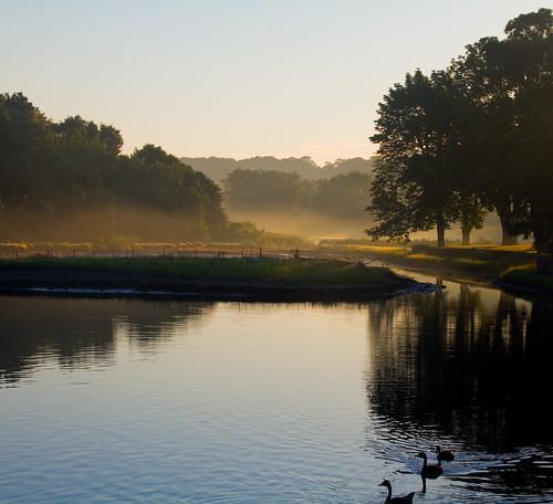 ri fog sunrise bristol haze july rhodeisland silvercreek fourth exif02809