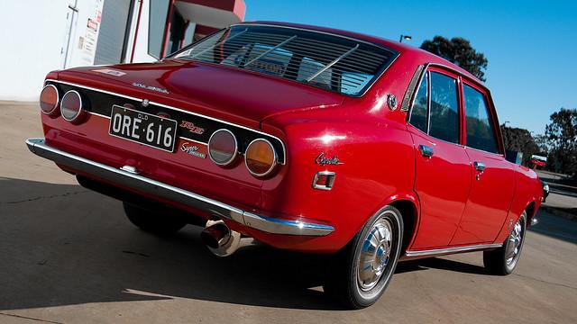 1971 Mazda Rx2: 1971 Capella (RX2 Converted)