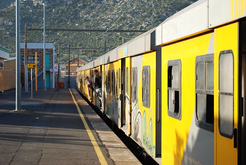 Train ride from Cape Town to Simons Town