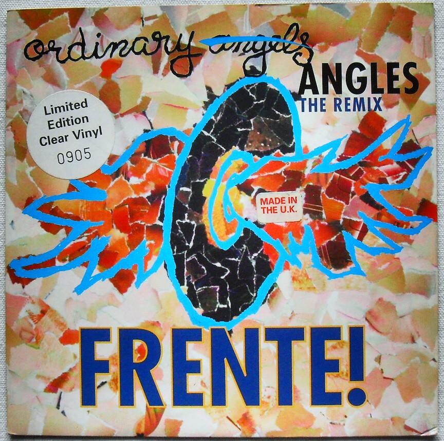 1994 Frente Ordinary Angels Angles Remix White Vinyl Uk Pr Flickr