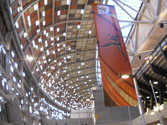 Inside skin of Soccer City