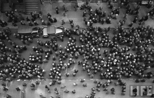 Hats in the Garment District, by Margaret Bourke-White 1930