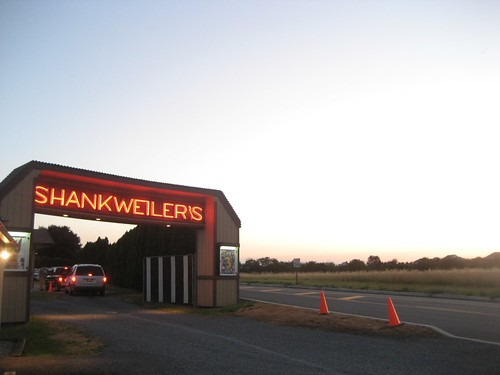 Shankweiler's Drive In Entrance Neon