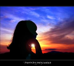 A PENSADORA - The Thinker - Quarta Sunset