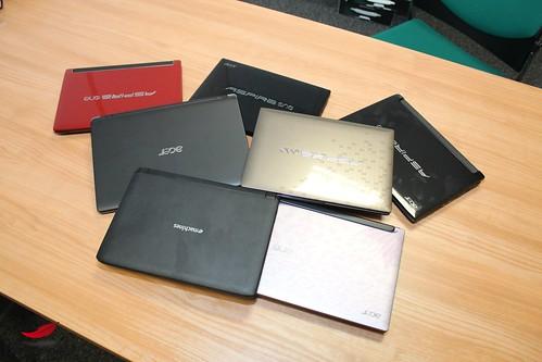 Les netbooks Acer de la rentrée