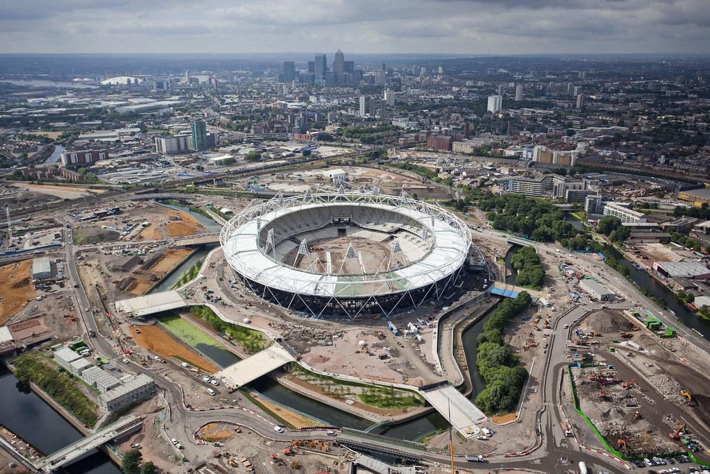 Olympic Stadium aerial_100630_014