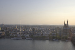 Cologne skyline from the Triangle.