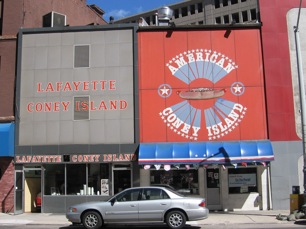 Detroit's Famous Coney Island Restaurants - Detroit, USA