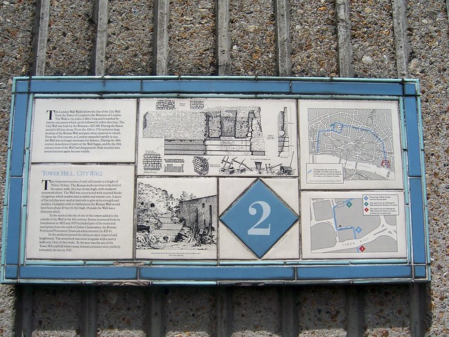 Londinium: roman wall (Panel 2)