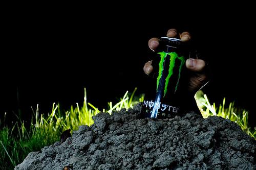 original green monster energy drink can beast energia ital unleash