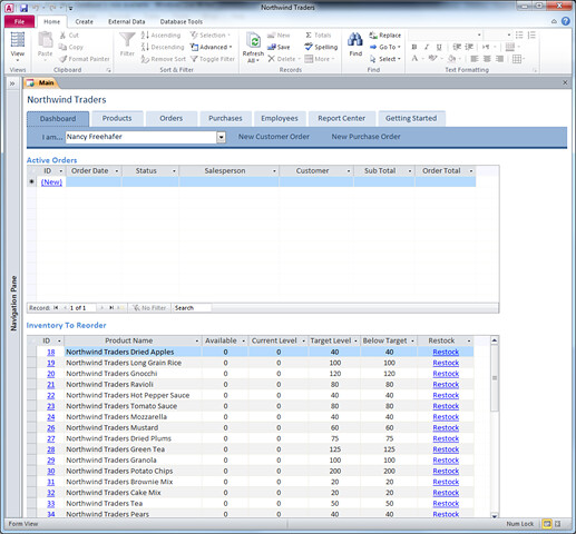 microsoft access templates 2010 free download