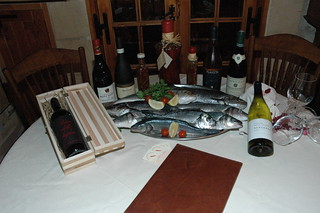 Fine wines and fish