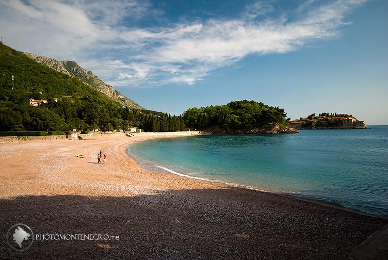пляж Milocer