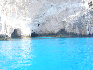 Blue Caves of Zante