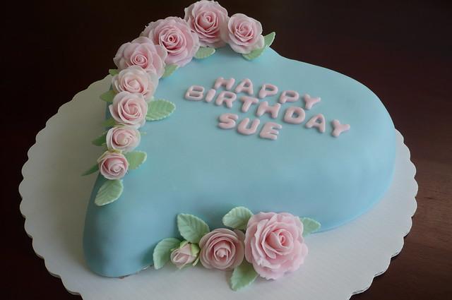 Happy Birthday Sue Cake