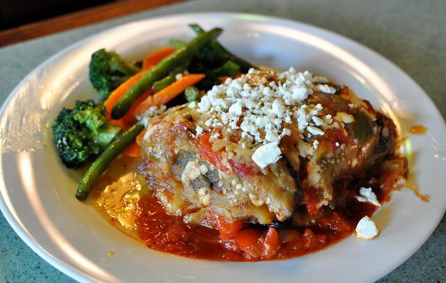 Vegetarian Moussaka | Flickr - Photo Sharing!