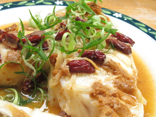 Nasi lemak lover steamed miso cod fish thank you to bo for Cod fish in chinese