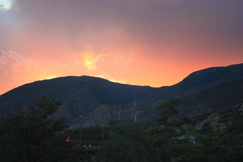mountains colorado sunsets glenwoodsprings