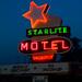 Chillicothe, MO Starlite Motel Neon by Micheal  Peterson
