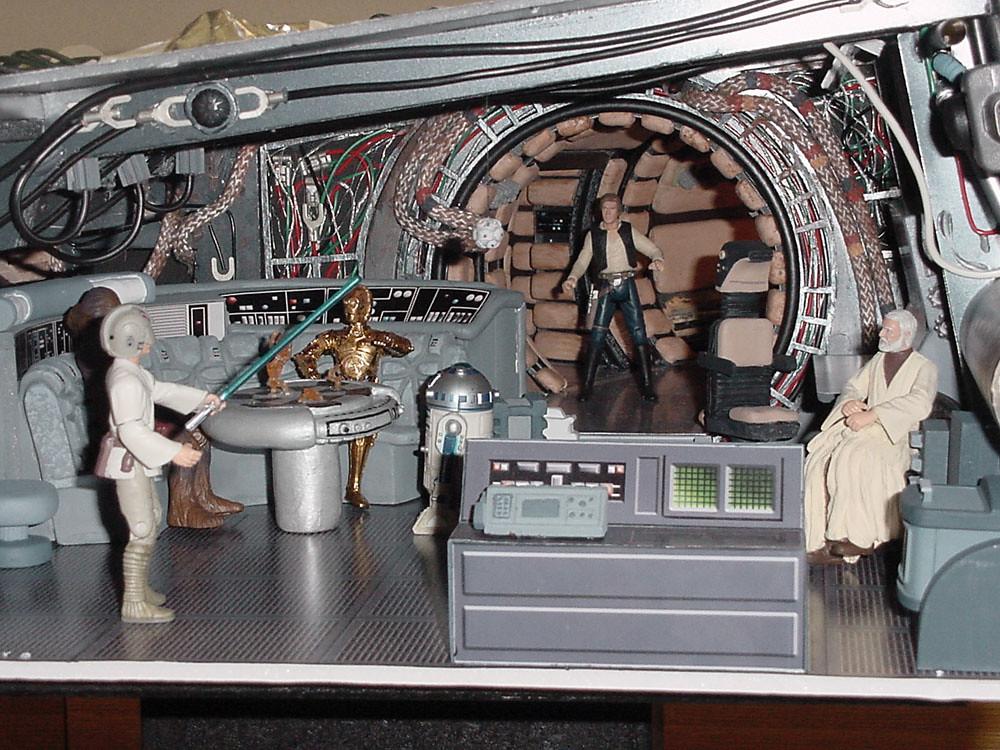 Star Wars Celebration Ii Diorama Millennium Falcon