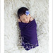 Pretty in Purple - Buffalo NY Newborn Photography by shportraits