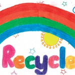 Recycling Sign Competition Runner Up: Jing Yap - Ashmole School