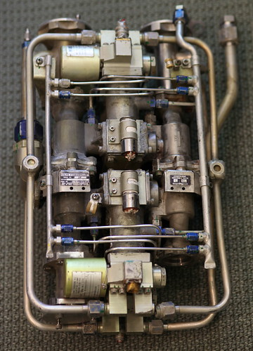 Lunar Module Ascent Engine Valve Package Assembly