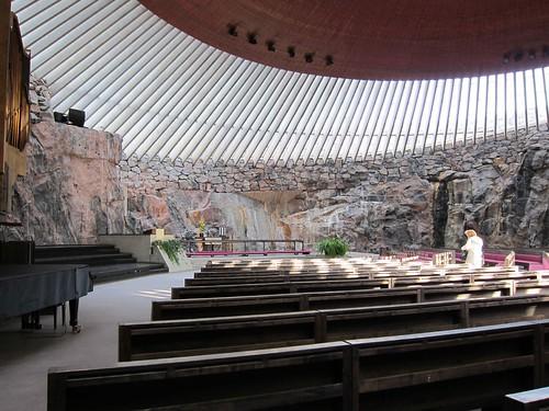 Helsinki - Temppeliaukion kirkko
