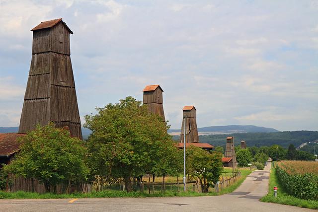 Qué ver qué hacer suiza Bad Zurzach - Torres de perforación de sal